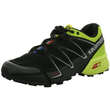 Salomon Trailrunning schwarz