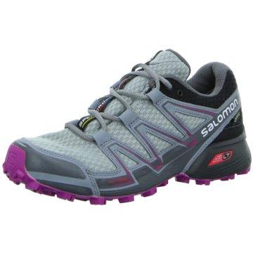 Salomon TrailrunningSpeedcross Vario GTX Damen Outdoorschuhe Trail-Running grau grau