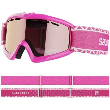 Salomon Ski- & SnowboardbrillenKIWI PINK/UNIV. SILVER MIRROR NS - L39911000 pink