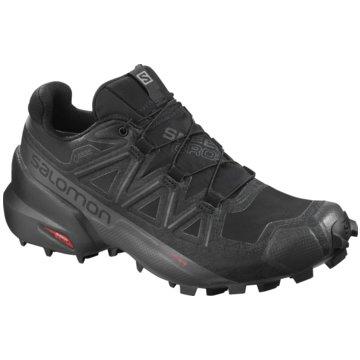 Salomon TrailrunningSPEEDCROSS 5 GTX W BLACK/BLA - L40795400 schwarz