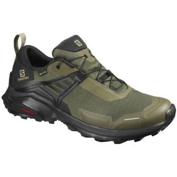 Salomon Outdoor SchuhX RAISE GTX - L41041600 grün