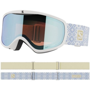 Salomon Ski- & SnowboardbrillenSENSE WHITE ICE/LOLIGHT L.BLUE NS - L41148900 weiß