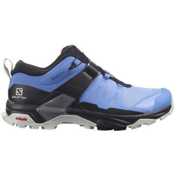 Salomon Outdoor SchuhX ULTRA 4 GTX W - L41290100 blau