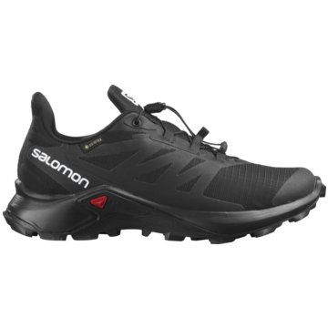Salomon TrailrunningSUPERCROSS 3 GTX W BLACK/BLA - L41455900 schwarz