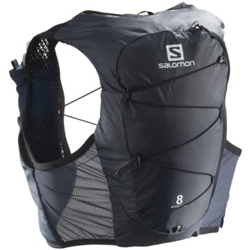 Salomon RunningrucksäckeACTIVE SKIN 8 SET EBONY/BLACK L - LC1303700 grau