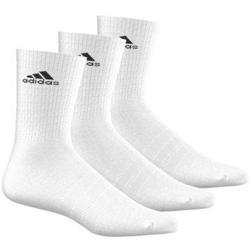 adidas Hohe Socken3S Performance Crew HC Socks 3Pack weiß
