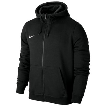 Nike FleecejackenTeam Club FZ Hoody schwarz