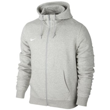 Nike FleecejackenTeam Club FZ Hoody grau