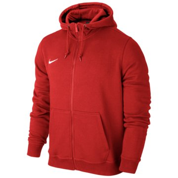 Nike FleecejackenTeam Club FZ Hoody rot