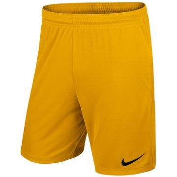 Nike Teamwear & TrikotsätzePark II Knit Short NB gelb