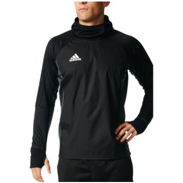 adidas SweaterTiro 17 Warm Top schwarz