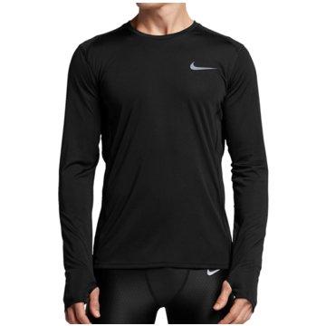 Nike SweaterDry Miler LS Top schwarz