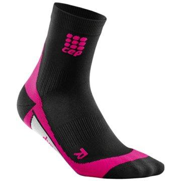CEP Hohe SockenDynamic+ Short Socks Women schwarz