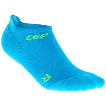 CEP Hohe SockenDynamic+ Run Ultralight No Show Socks blau
