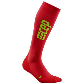 CEP KniestrümpfeProgressive+ Run Ultralight Socks Women rot