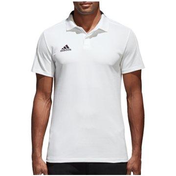 adidas PoloshirtsCON18 CO POLO - CF4377 weiß