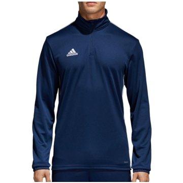 adidas SweaterCORE 18 TRAININGSTOP - CV3997 blau
