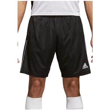 adidas Fußballshorts schwarz