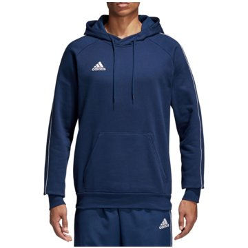 adidas HoodiesCORE18 HOODY - CV3332 blau
