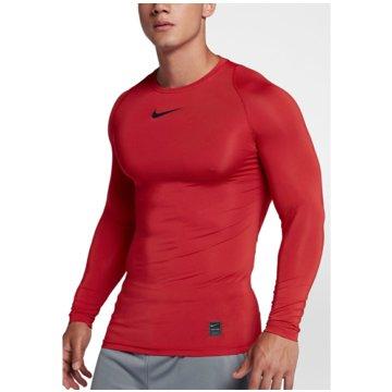 Nike SweaterPro Compression LS Top rot