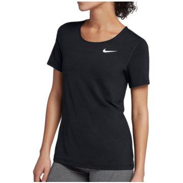Nike T-ShirtsPro All Over Mesh SS Top Women schwarz