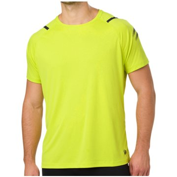 asics T-Shirts gelb