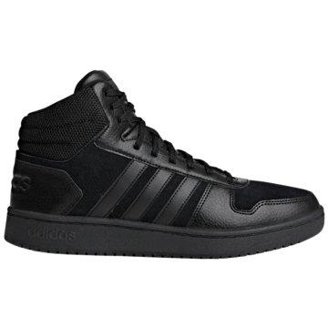 adidas Core Sneaker HighHoops 2.0 Mid schwarz