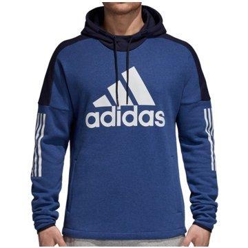 adidas Hoodies blau