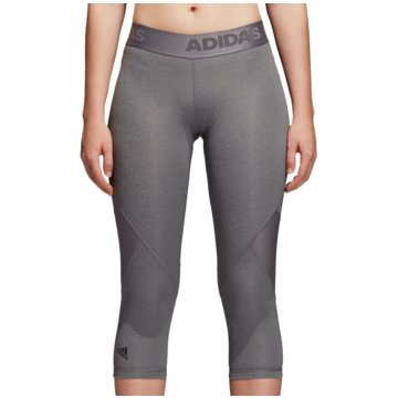 adidas 3/4 HosenAlphaskin Sport Heather 3/4 Tight Women grau
