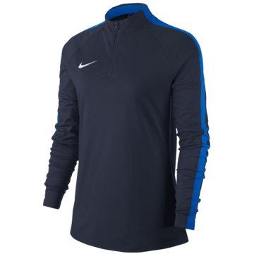 Nike LangarmshirtDry Academy 18 Dril LS Top Women blau