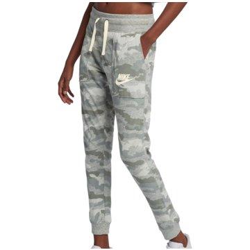 Nike DamenCamo Gym Vintage Sportswear Pant Women grau