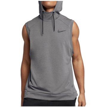 Nike TanktopsDri-FIT Training Hooded SL Top grau