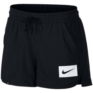 Nike DamenSportswear Swoosh Mesh Short Women schwarz