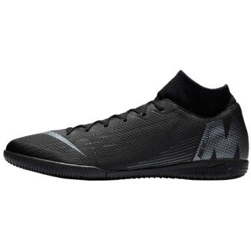 Nike Hallen-SohleMercurial X Superfly 6 Academy IC schwarz