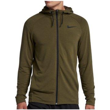 Nike Sweatjacken grün