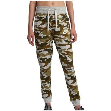Nike DamenCamo Gym Vintage Sportswear Pant Women oliv