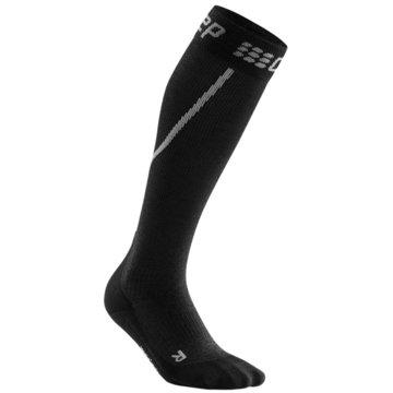 CEP KniestrümpfeWinter Run Compression Socks Women schwarz