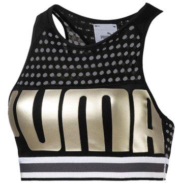 Puma DamenBra Mid Women schwarz