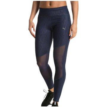 Puma DamenAlways On Graphic 7/8 Tight Women blau