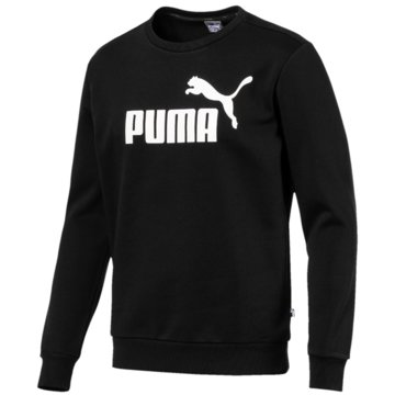 Puma SweaterEssentials Logo Crew Sweat schwarz