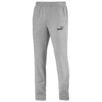 Puma HerrenESS Logo Pants TR op grau