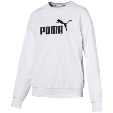 Puma HoodiesEssentials Logo Crew Sweat Women weiß