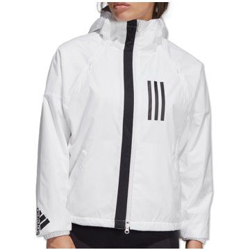 adidas TrainingsjackenWind Fleece Jacket Women weiß