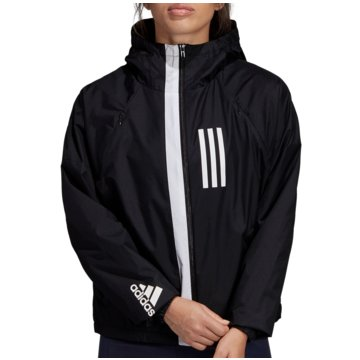 adidas TrainingsjackenWND Fleece Jacket Women schwarz