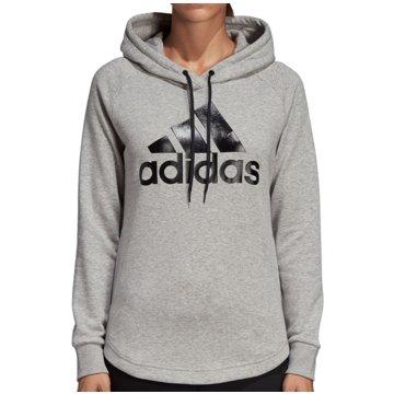 adidas HoodiesMust Haves Badge of Sport Over-head Hoodie Women grau