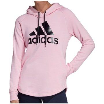 adidas HoodiesMust Haves Badge of Sport Over-head Hoodie Women rosa