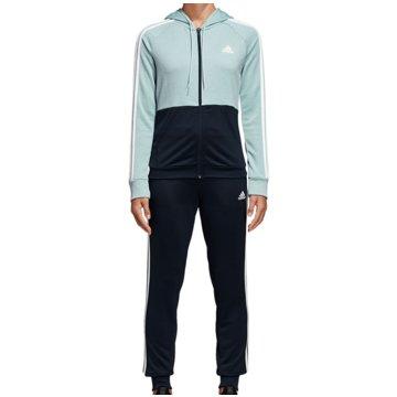 adidas TrainingsanzügeTrack Suit Game Time Women blau