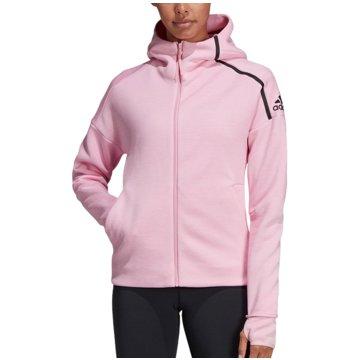 adidas HoodiesZ.N.E. Hoodie Fast Release Women rosa