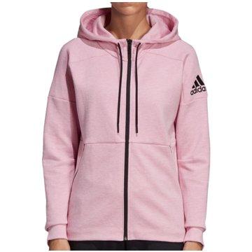 adidas HoodiesID Stadium Full-Zip Hood Women rosa