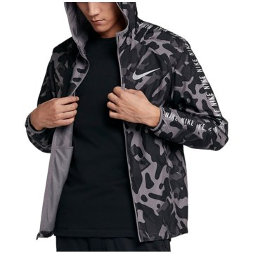 Nike SweatjackenEssential Running Flash GFX Hooded Jacket schwarz